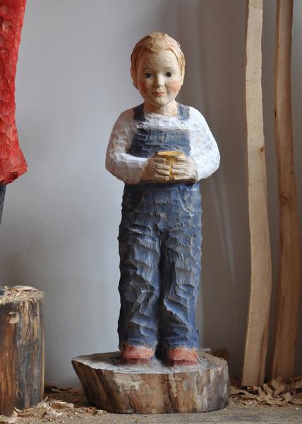 Florentin, Linde, Pigment, 2010, 90 cm